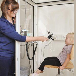 Lungenfunktionstest in der Kinderarztpraxis Dr. Klauck