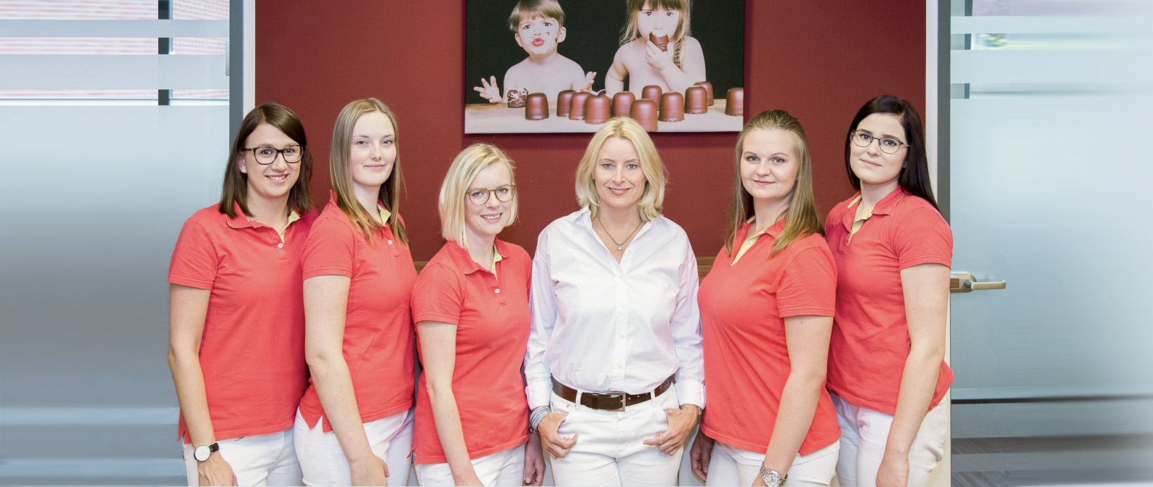 Kinderaerztin Dr. med Martina Klauck und ihr Praxisteam