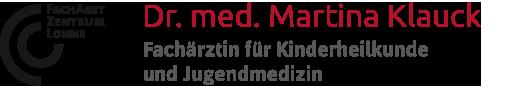 Logo Dr_Klauck_Fachaerztin_fuer_Kinderheilkunde_und_Jugendmedizin